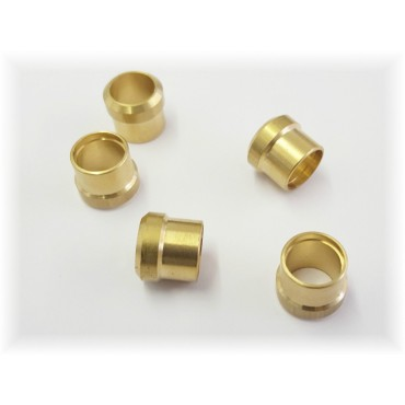 Caravan / Motorhome Truma Gas Pipe 8mm Brass Compression Olives - Pack of 5