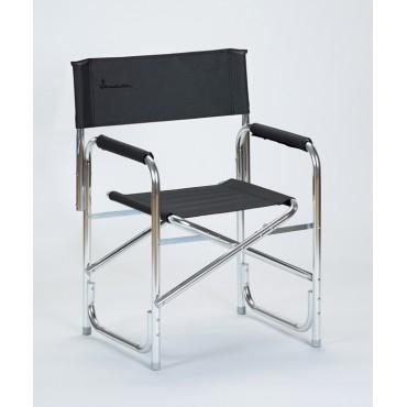 Isabella Directors Lightweight Aluminium Directors Chair - Dark Grey