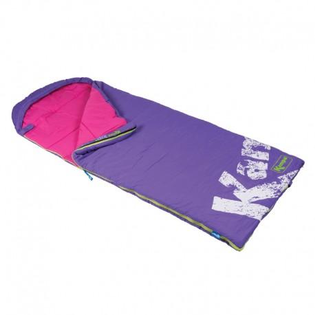 Kampa Kip Venus Junior Childrens Sleeping Bag with Stuff Sac