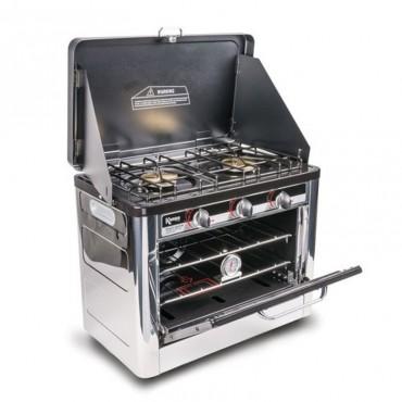Kampa Roast Master Portable Camping LPG Gas Hob & Oven