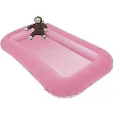 Kampa Airlock Junior Inflatable Air Bed Candyfloss Pink