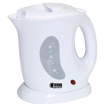Caravan Low Wattage 1.0l Cordless White Jug Kettle