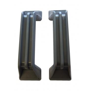 Zadi Grab Handles x 2 - Grey - 137mm Hole Centres