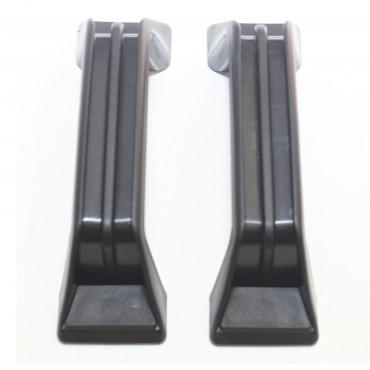 Grab Handles x 2 - Black - 137mm Hole Centres