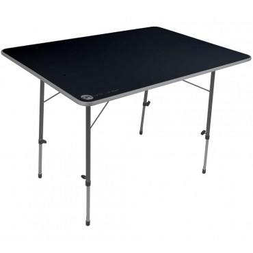 Adjustable Legs Compact Camping Table - 80cm x 60cm