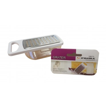 Stainless Steel Mini Grater with Collection Tray