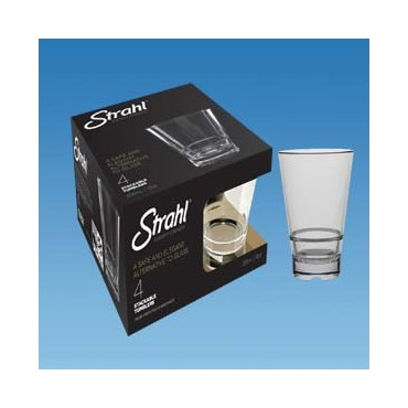 Strahl Capella Stacking Tumbler - 355ml - Pk of 4