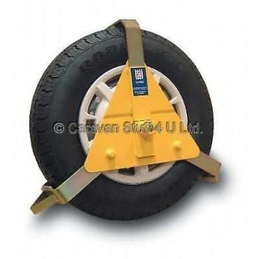 """Caravan / Motorhome 14-16"""" Stronghold Wheel Clamp"""