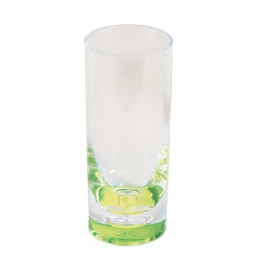 "Quest Leisure Lightweight Polycarbonate Elegance Hi-Ball ""Glass"" - Lime"