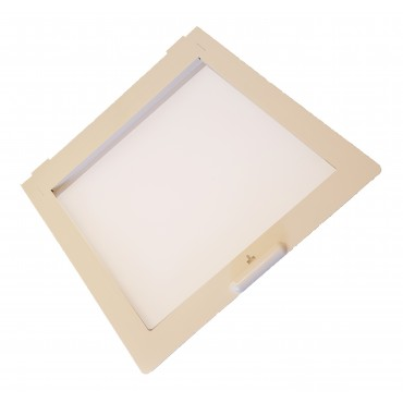 MPK 420/430 Caravan / Motorhome Rooflight Replacement Flyscreen - Ivory Trim