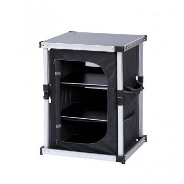 Isabella Lightweight Alloy Folding Single Cupboard (60 x 48 x 81cm)