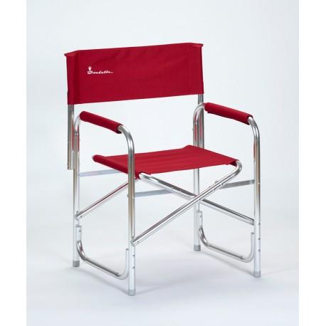 Isabella Directors Lightweight Aluminium Directors Chair - Red