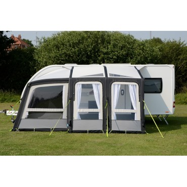 2018 Kampa Rally AIR Pro 260 Plus Left Caravan Porch Awning