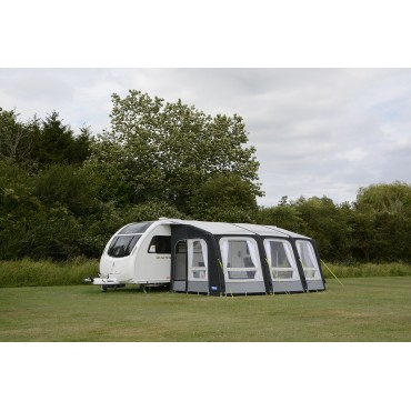 "2018 Kampa Ace AIR Pro 500 ""Dual Pitch Roof"" Caravan Inflatable Awning"