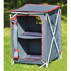 Crusader Three Shelf Camping Wardrobe