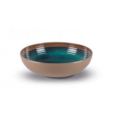 Kampa Java Large 30cm Melamine Salad / Serving Picnic Bowl