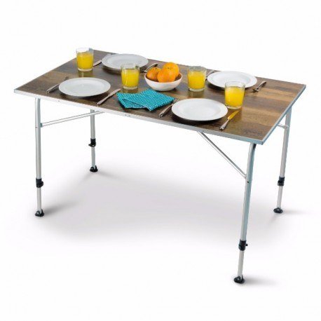 Kampa Zero Large Ultralight Lightweight Alloy Framed Camping Table