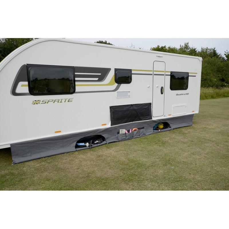Kampa Pro Caravan Awning Organiser Draft Skirt - Caravan ...