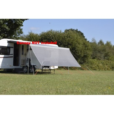 Kampa Front Sunscreen 290 Panel for Revo Zip & Fiamma Roll out Awning