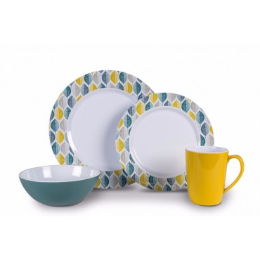 Picnic / Melamine 16 piece Dinner Set - Folio Heritage