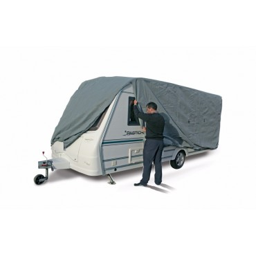 Kampa Breathable Extra Wide Caravan Cover Grey 550cm To 600cm