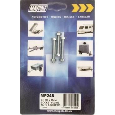 Towing - 7 Pin Sockets Bolts