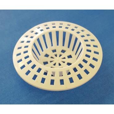 W4 Compact Sink Waste Strainer  - White