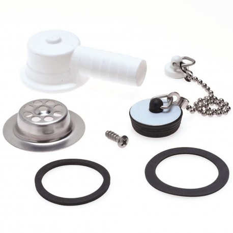 Dometic Water Waste Drain & Plug Kit