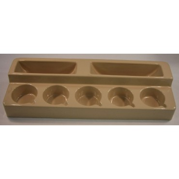 Free Standing Cup And Plate Rack