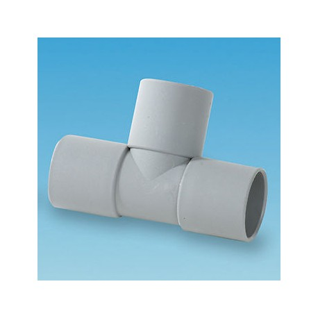 28mm Pipe Push Fit Tee Piece