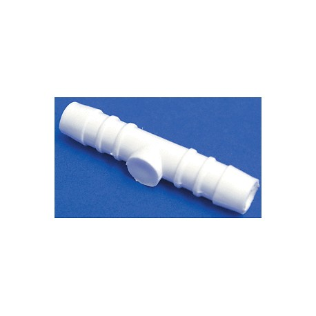 """3/8"""" 10mm Barbed Straight Connector"""