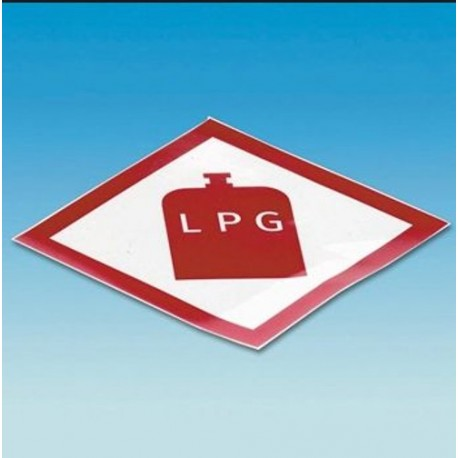 Gas Locker Box Lpg Gas Sticker