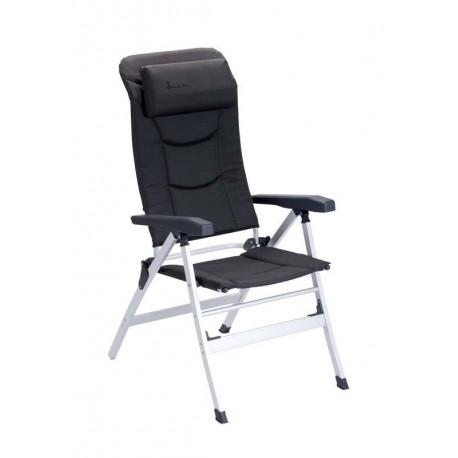 Isabella Thor Reclining Camping Chair - Dark Grey