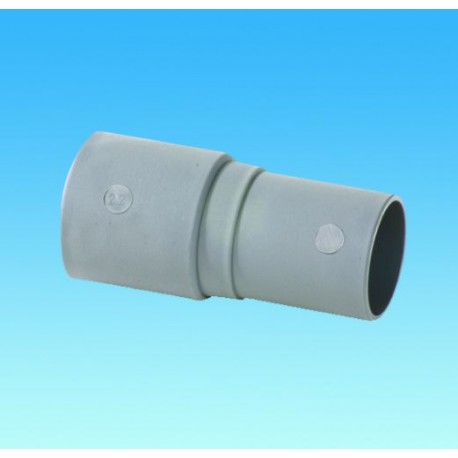 Waste Pipe Reducer 28.5mm Convoluted Hose To 28mm Rigid Pipe