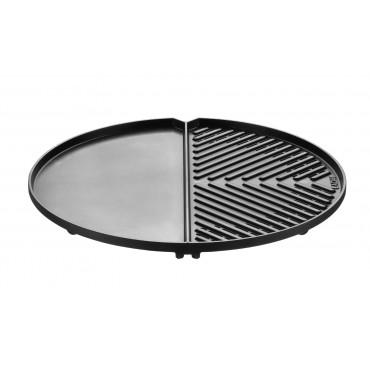 Cadac Grillo Chef / Citi Chef 40 BBQ 2 Plancha Plate - split Griddle / Flat