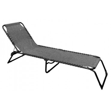 Quest Hampton Lounge Sun Lounger / Camp Bed