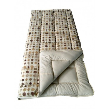 Single 60oz Super Size Sleeping Bag - Brown Baubles