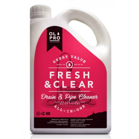 Olpro Fresh & Clear - Drain & Pipe Cleaner (2l)
