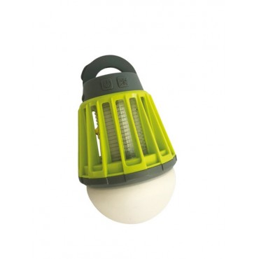 Quest Kills Double Action USB Rechargeable Lantern and Insect Killer