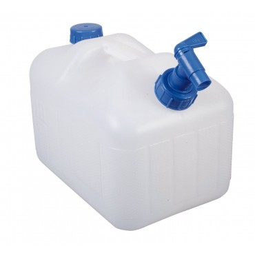10 Litre Fresh Water Jerry Can With Tap - Kampa Splash