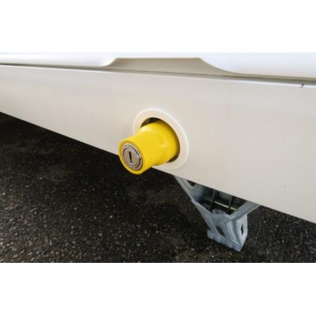 Milenco Caravan New Design Corner Steady Leg Nut Lock