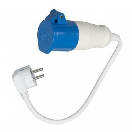 Mains Hook Up Continental Lead Convertor / Adaptor