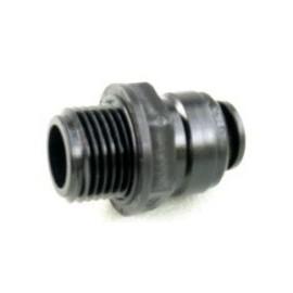 "W4 Push Fit Adaptor - 3/8"" BSP -12mm"