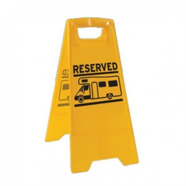 Motorhome Reserved A Board Sign - Protect your Pitch!