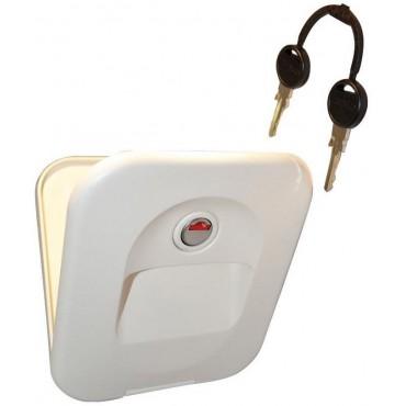Thetford Cassette Toilet Waterfill (Flush) Door - Ivory - Part 23791-57