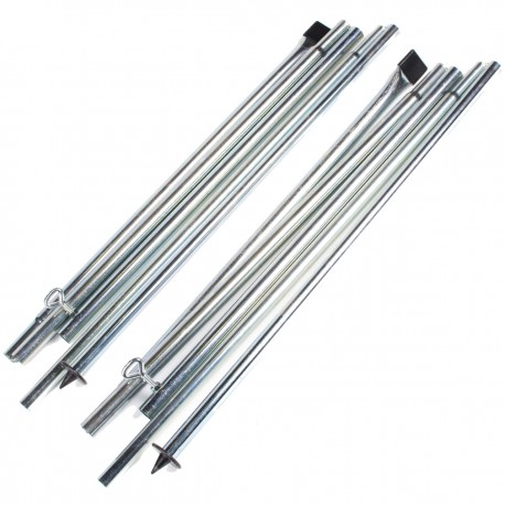 Via Mondo Steel Rear Upright Poles For Porch Awnings