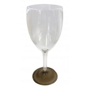 """Polycarbonate Elegance Wine """"Glass"""" - Smoke"""