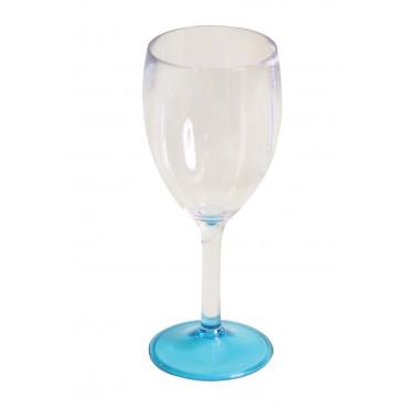 "Quest Leisure Lightweight Polycarbonate Elegance Wine ""Glass"" - Blue"