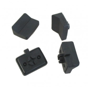 Milenco Aero Towing Mirror Replacement V Pads - Pack Of Four