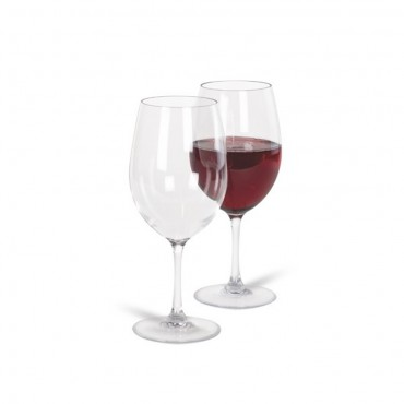 Pack of Two Polycarbonate Wine Glasses